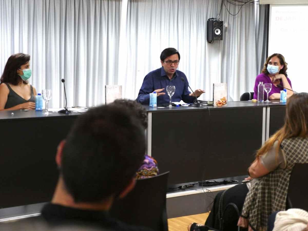 Ada Colau i Olga Rodríguez presentaron en Madrid mi nuevolibro.