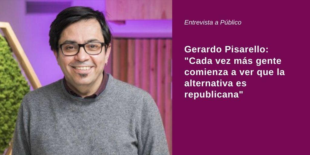 """Gerardo Pisarello: """"Es inadmisible que no le hayamos escuchado a Felipe VI ni una sola frase de condena del franquismo"""""""