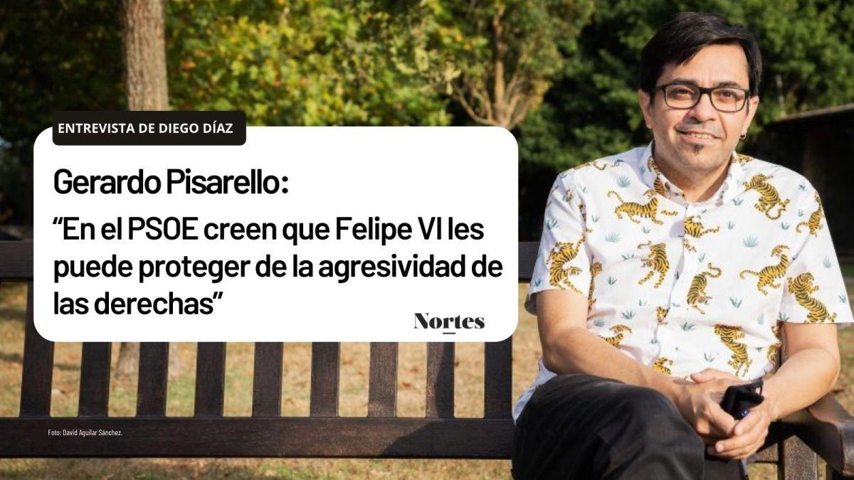 """""""En el PSOE creen que Felipe VI les puede proteger de la agresividad de lasderechas"""""""